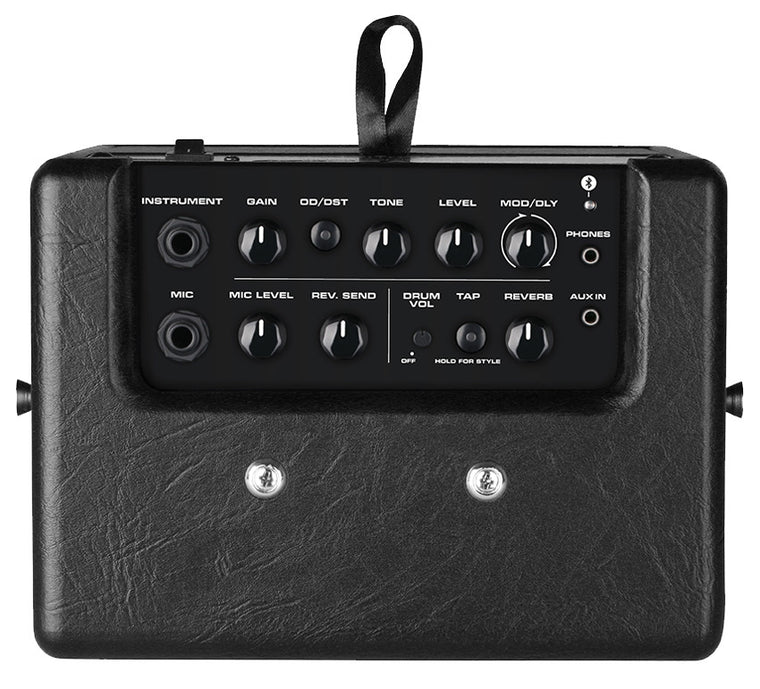 NU-X MIGHTY8BT Portable Digital 8W Guitar Amplifier with Bluetooth & EffectsPowered by AA(8) Batteries or Adaptor