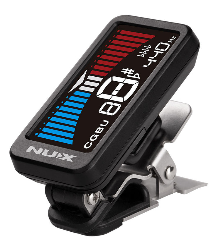 NU-X Nu-Tune Clip-on TunerThe finest clip-on tuner