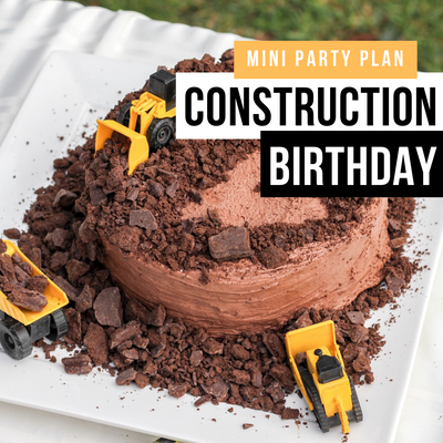 Mini Party Plan: Construction Party Inspiration