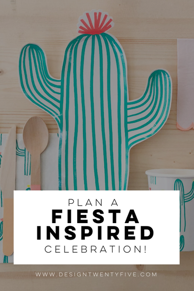 plan a fiesta inspired celebration