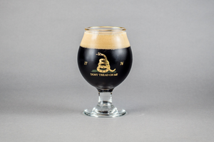 Glass 16: Don't Tread On Me Snifter - Small Batch Glassware