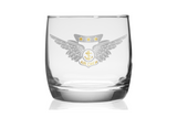 USMC Aircrew Wings Charity Glass