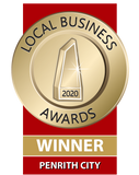 Winnder of the 2020 Local Business Awards