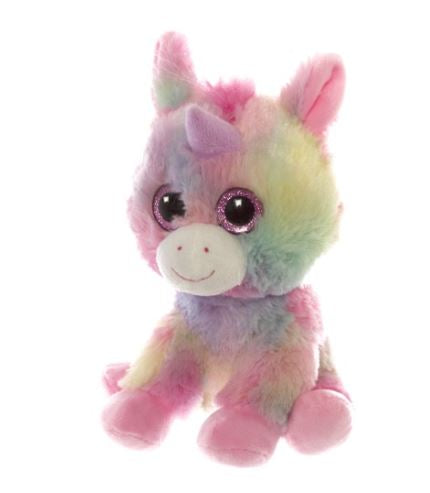 Unicorn teddy to add to a chocolate bouquet arrangement
