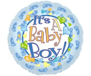 Balloon It's a Boy Large Helium 17inch