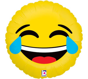 Balloon Laughing Emoji Large Helium 17inch