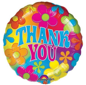 Balloon Thank You Large Helium 17inch