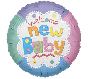 Balloon Welcome New Baby