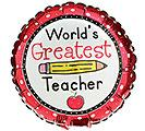 Balloon World's Greatest Teacher