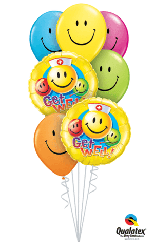 BOUQUET - Bouquet Of Balloons In A Box - Tell Us Your Occasion & We Will Match The Balloons!
