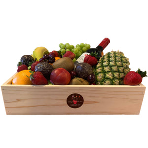 BOUQUET - Fruitlicious Wine And Fruit Hamper