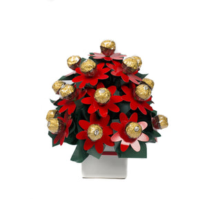 Sunshinelicious Ferrero Edible Flower Bouquet