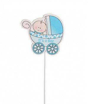 PICK - Baby Boy Blue Pram Pick