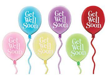 Get Well Soon Pick |  Balloon (1 Item)