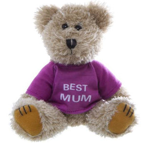 "TEDDY - ""Best Mum"" Bear"