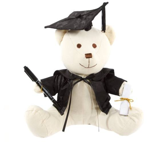 Graduation Signature Bear