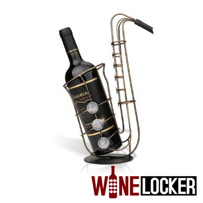 Saxophone Wine Holder