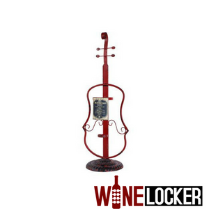 Musical Instruments (Violin, French Horn, Clarinet) Single Bottle Wine Holder