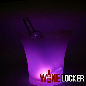 LED 7 Color Light Changeable Ice Bucket for Bottle Service