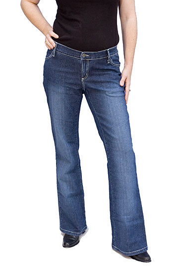4 Pocket Below Belly Jeans - tummystyle.com