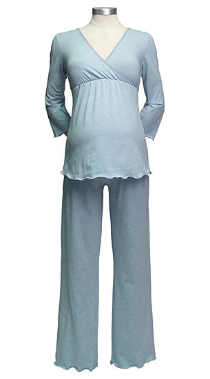 Japanese Weekend 3/4 Sleeve Maternity - Nursing Sleepwear - tummystyle.com