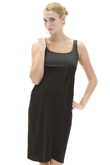 Olian Silk Bodice Dress - tummystyle.com