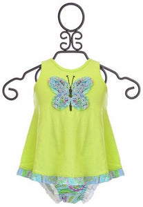 Mimi & Maggie Butterfly Sand Castle 2PC Set Baby Dress - tummystyle.com