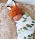 Blueberry HIll Rusty Fox Baby Hat - tummystyle.com