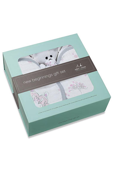 Aden + Anais For the Birds Gift Set