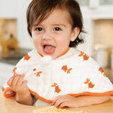 mod about baby - frog + fish classic burpy bibs - tummystyle.com