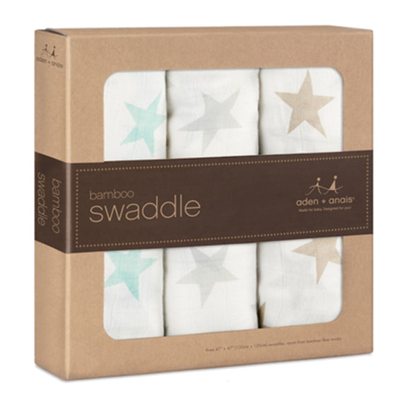 milky way bamboo swaddles by aden & anais