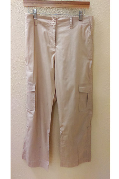 Amma Adjustable Length Khaki Pant - tummystyle.com
