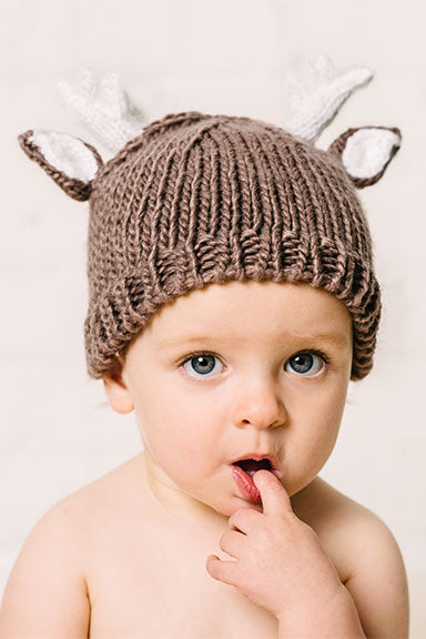 Blueberry Hill Deer Baby Hat - tummystyle.com