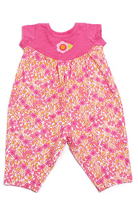 Baby Lulu Baby Floral Knit Bloomer