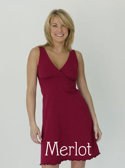 Majamas Sleepy Nursing Dress - tummystyle.com