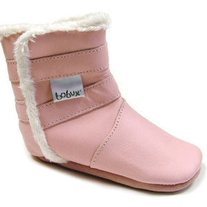 Bobux Pull Apart Pale Pink Baby Boot - tummystyle.com