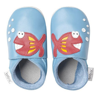 Bobux Atoll FishSoft Sole Baby Shoes - tummystyle.com