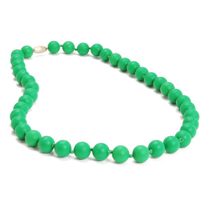 Chewbeads Emerald Green Jane Necklace - tummystyle.com