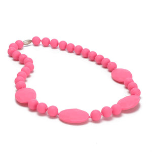 Chewbeads Punchy Pink Perry Necklace - tummystyle.com