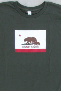 24-7 Daddyhood Locally Grown Logo T-Shirt (for Dads) - tummystyle.com