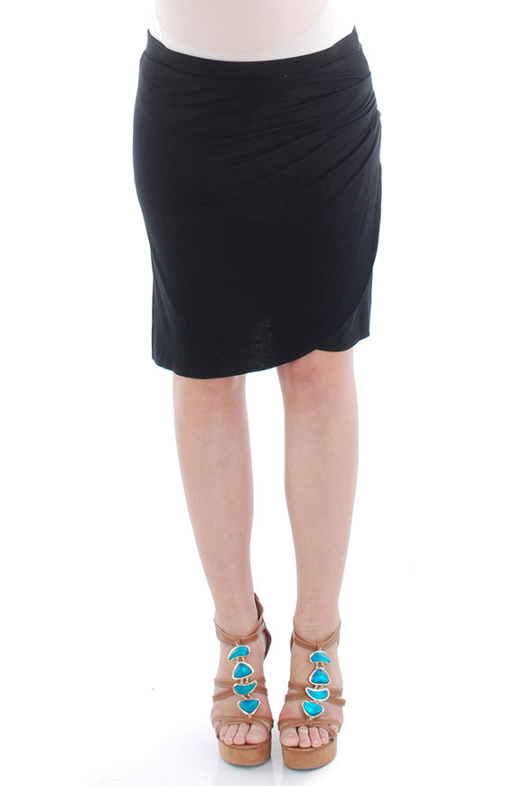 Everly Grey Spencer Maternity Skirt - tummystyle.com