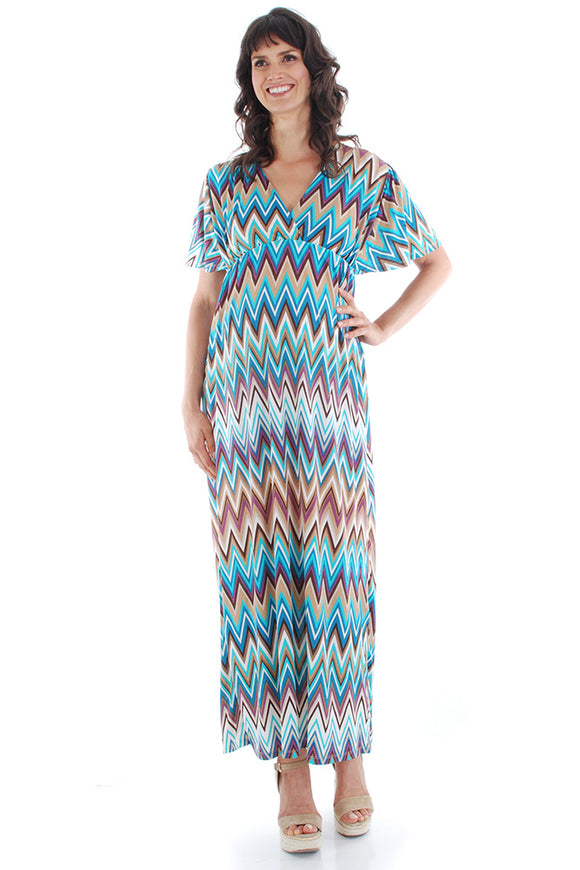 Everly Grey Goddess Maxi Dress - tummystyle.com