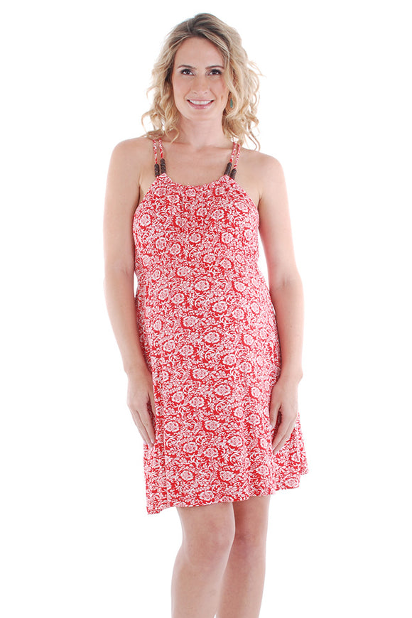 Everly Grey Aloha Maternity Dress - tummystyle.com