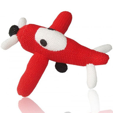 Estella Organic Airplane Rattle - tummystyle.com