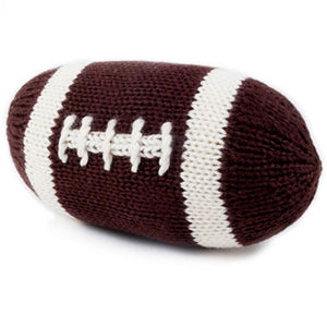 Estella Organic Football Rattle - tummystyle.com