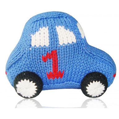 Estella Organic Race Car Rattle - tummystyle.com
