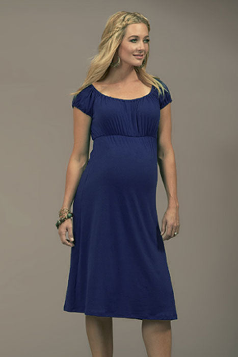 JKU Peasant Maternity Dress