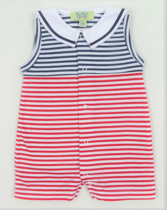 Kissy Kissy QT Marine Stripe Sleeveless Baby Playset