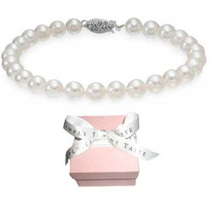 Lulu Pearl Knotted Bracelet - tummystyle.com