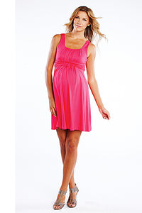 Maternal America Weaved Waist Maternity Dress